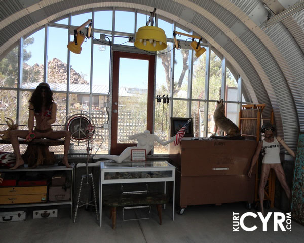 What Awaited Me Under The Curving Arches Of A Collection Customized Quonset Huts Was Astounding